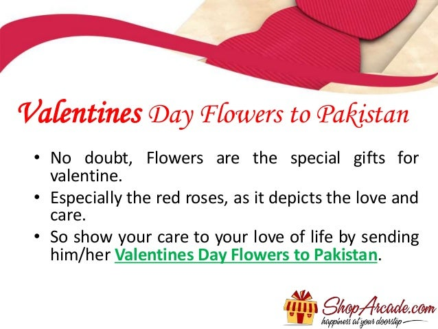 how to send valentines day gifts to pakistan, Ideas