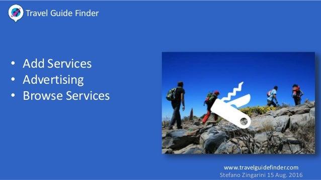 Make Money with Travel Guide Finder Platform Slide 3