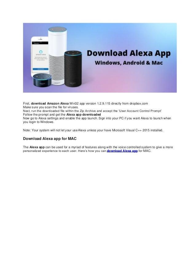 How to setup alexa with amazon echo
