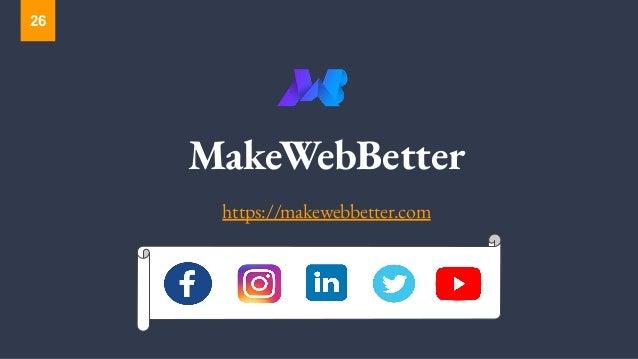 MakeWebBetter https://makewebbetter.com 26