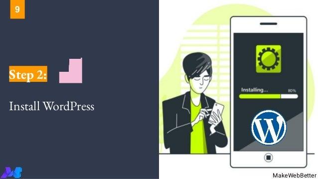 Step 2: Install WordPress MakeWebBetter 9