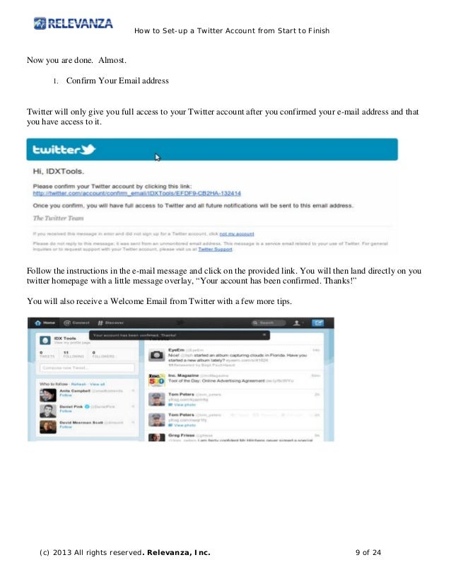 how to look up email address from twitter