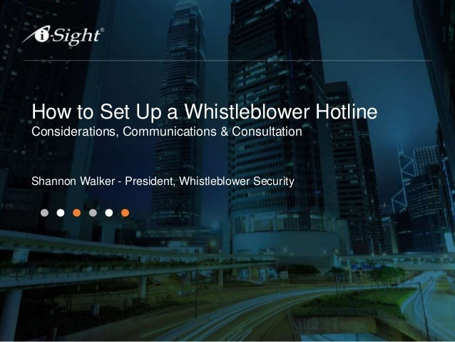 Tips for Implementing a Whistleblower Hotline