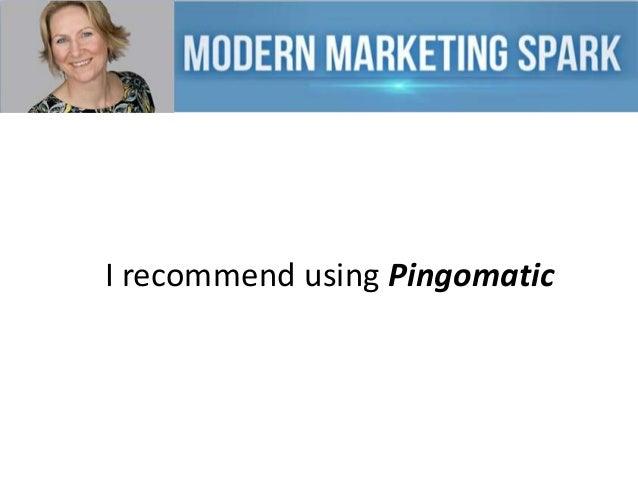 I recommend using Pingomatic