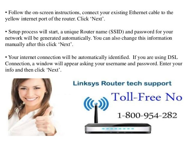 How to setup Linksys Wi-Fi Router without a setup CD?