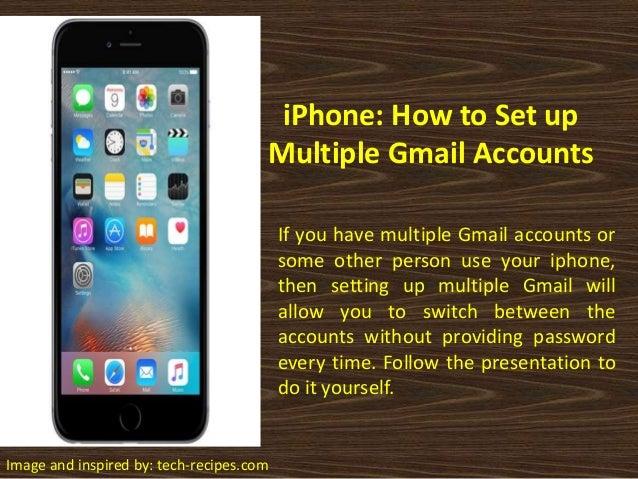 Gmail iphone set up