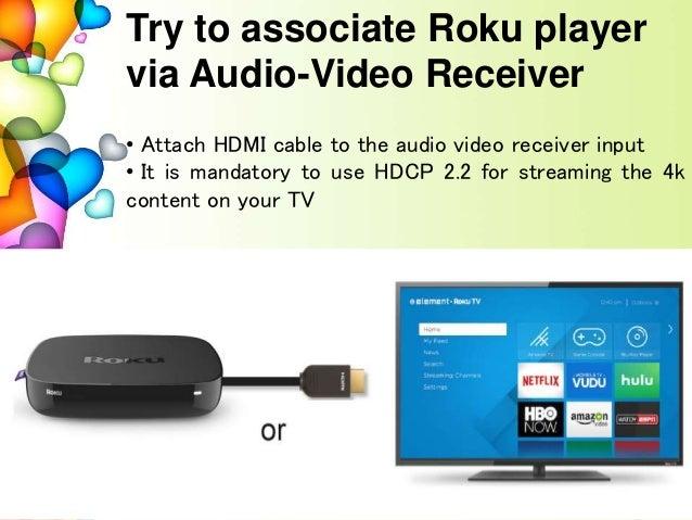 How to setup Roku and activate roku com/link for 4k hdr