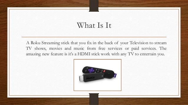 How to setup roku streaming stick?