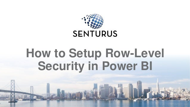 How to Setup Row-Level Security in Power BI 2