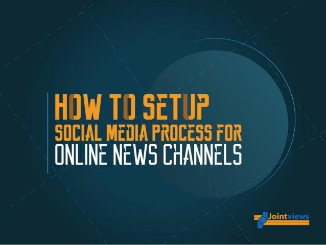 Social Media Strategy For Online News Websites
