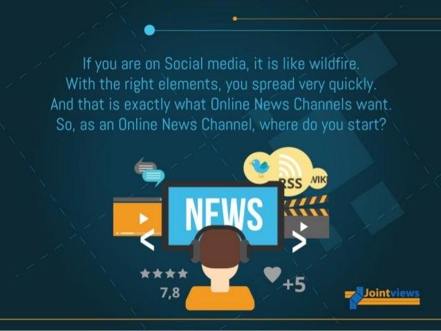 Social Media Strategy For Online News Websites Slide 2