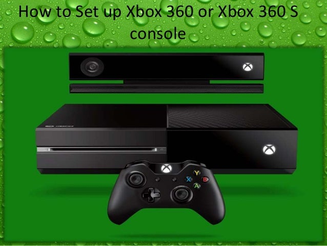 How to set up xbox 360 console