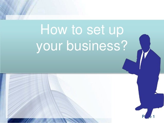Image results for Setting up your business