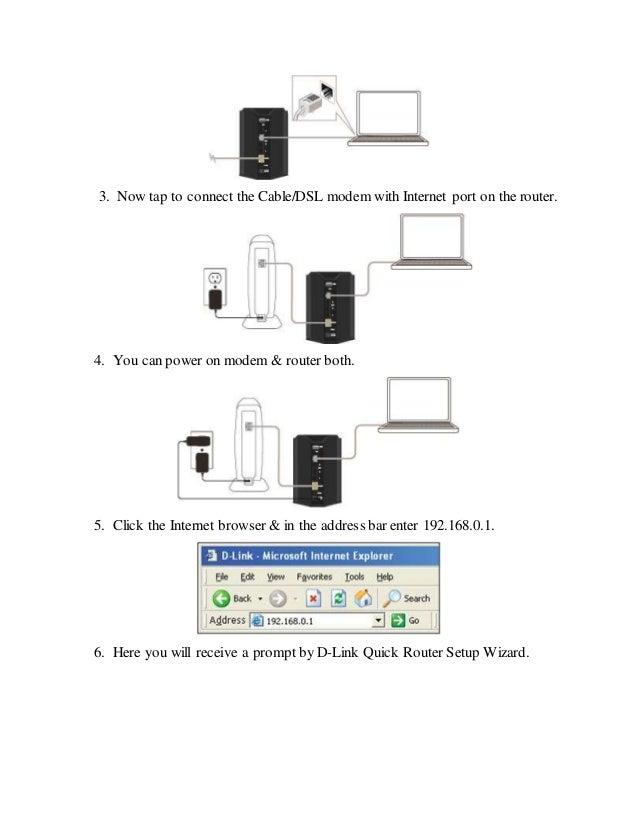 D Link Quick Router Setup Wizard
