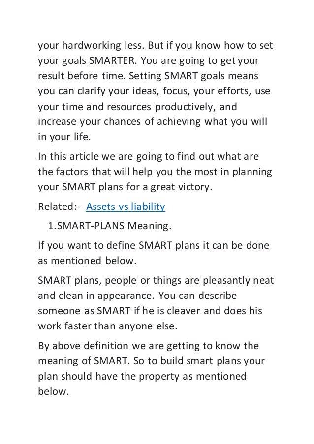 How to set your goals smarter Slide 2