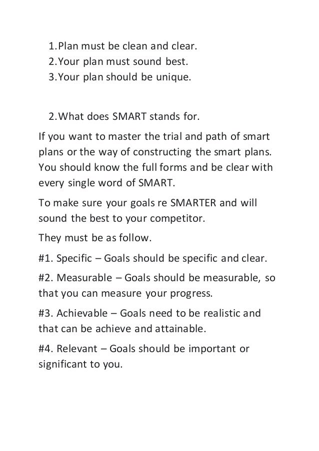 How to set your goals smarter Slide 3