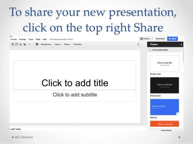 how to share ppt in google docs