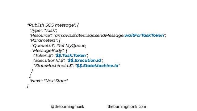@theburningmonk theburningmonk.com HTTP POST ? sendTaskSuccess
