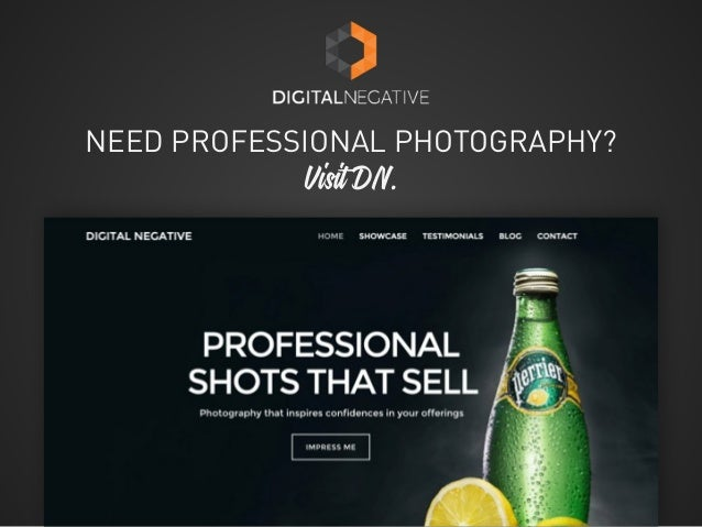 NEED PROFESSIONAL PHOTOGRAPHY? Visit DN.