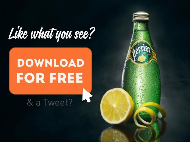 Like what you see? DOWNLOAD FOR FREE & a Tweet?