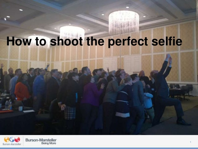 How to shoot the perfect selfie 1