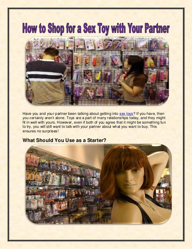Sex toys partner