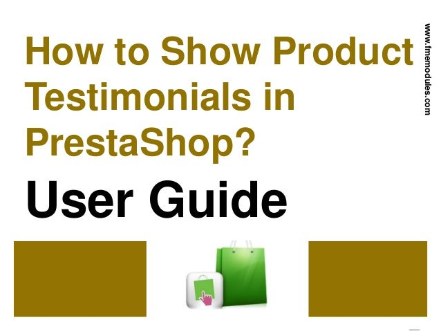 How to show product testimonials in prestashop user guide how to show product testimonials in prestashop user guide fmemodules publicscrutiny Choice Image