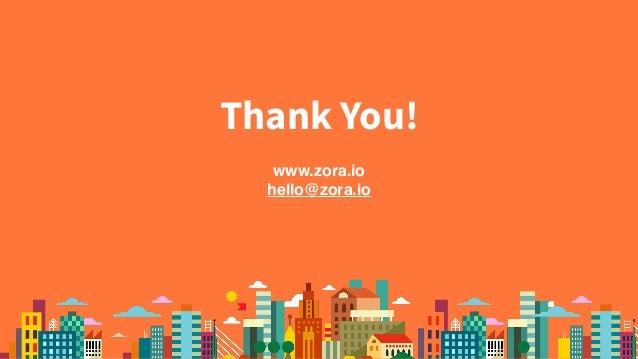 www.zora.io hello@zora.io Thank You!