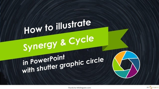 What can you use shutter graphics for? Such a segmented circle can be used to illustrate synergy, compactness, repeating s...