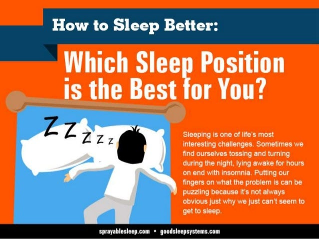 How To Sleep Better Which Sleep Position Is The Best For You