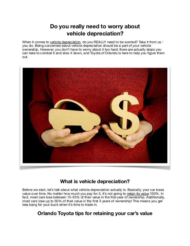 Do you really need to worry about vehicle depreciation? When it comes to vehicle depreciation, do you REALLY need to be wo...