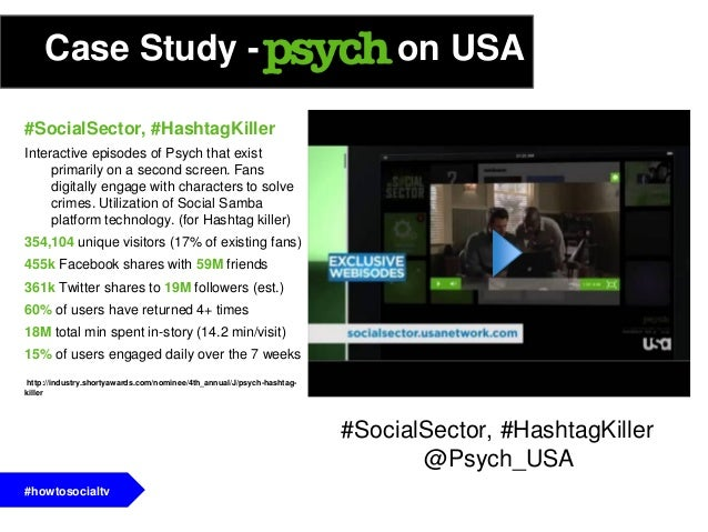 - Social buzz does not always correlate with ratings- Case study: (@BravoWWHL/@BravoAndy)- You need to know your audienceA...