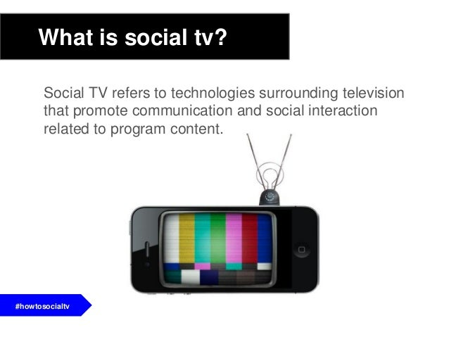 Social TV refers to technologies surrounding televisionthat promote communication and social interactionrelated to program...