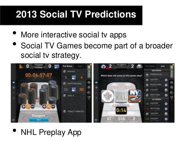 2013 Social TV Predictions• Twitter TV• Viacom, NBC, Comcast• Stream videos#howtosocialtv#howtosocialtv