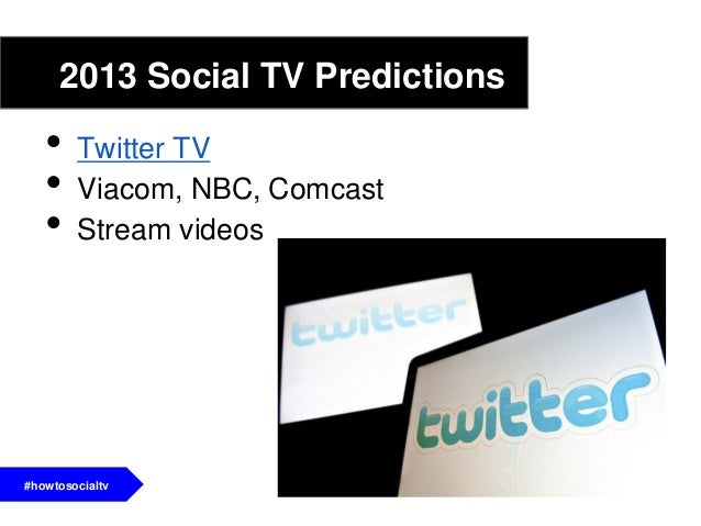 Conclusion• Social TV is an umbrella term that covers awide range of activities and ways to view TV• Second screening appl...