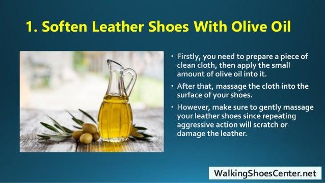 coconut oil shoe polish