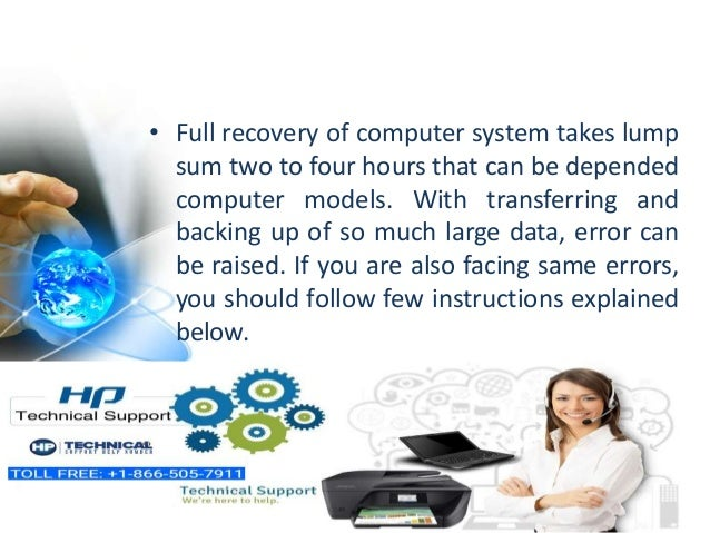 Solve HP system recovery in windows 10 by expert