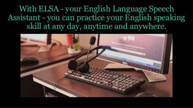 elsa english app
