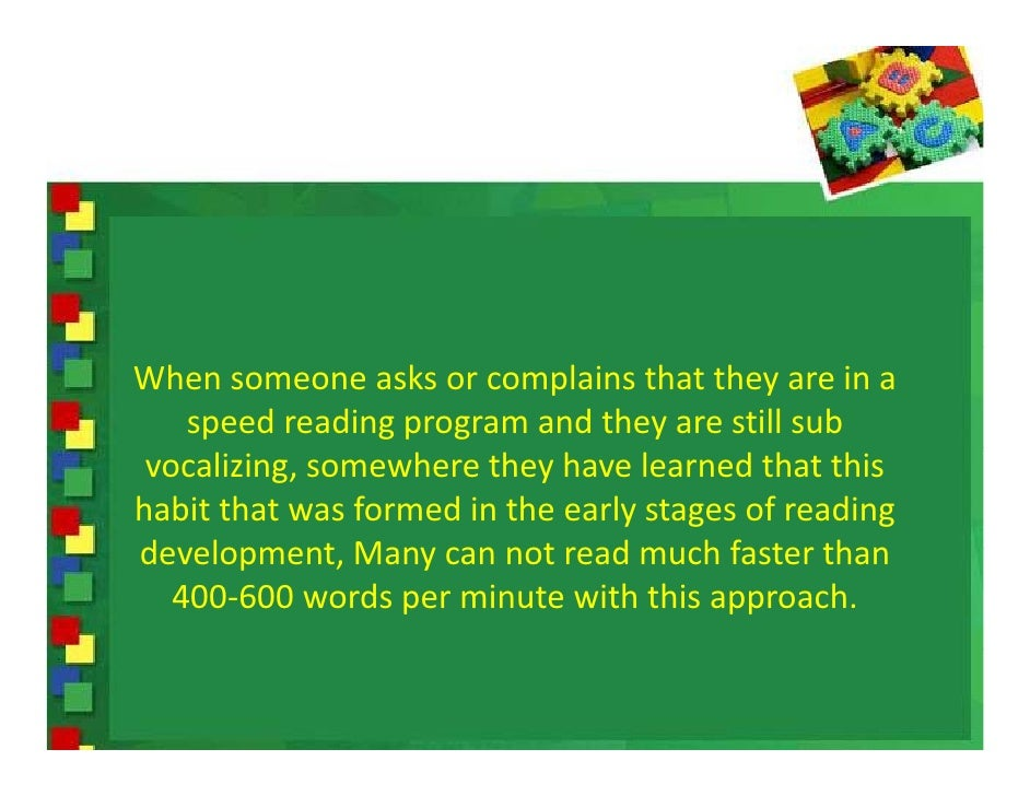 How To Speed Up Reading Tactics Slide 2