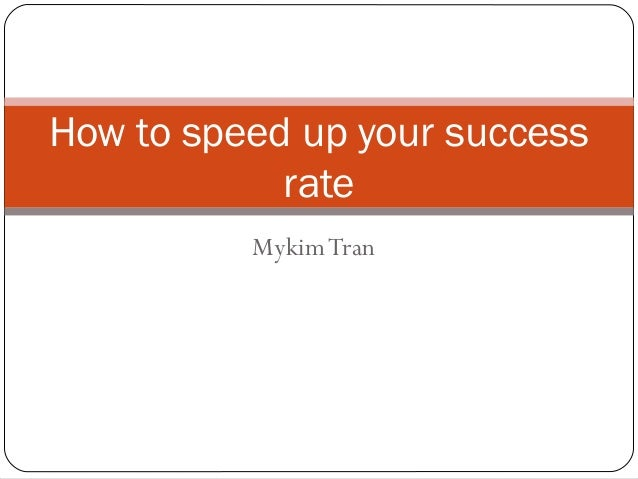 success rates of speed dating