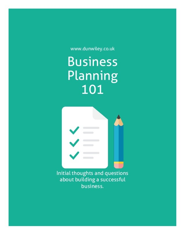 How To Start A Business Free Business Plan Template