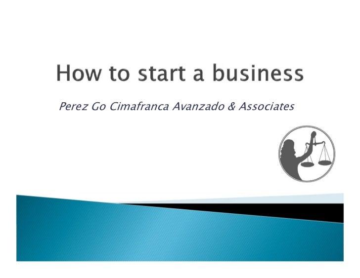 Perez Go Cimafranca Avanzado & Associates