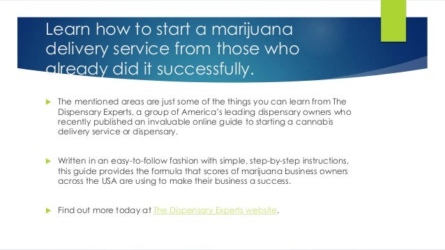 how to start a marijuana delivery service. Black Bedroom Furniture Sets. Home Design Ideas