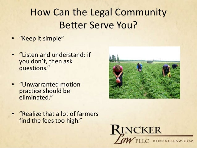 How to Start and Grow a Food and Agriculture Law Practice