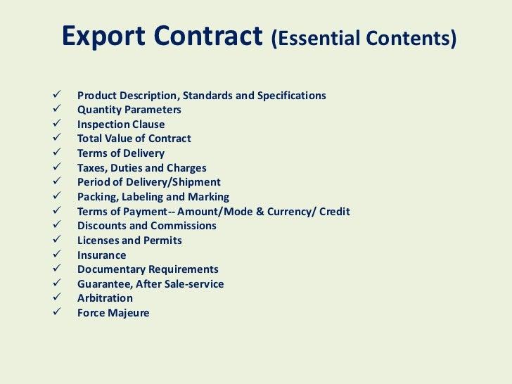 import export business plan pdf