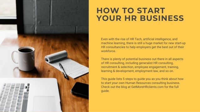 How To Start An HR Consultancy Slide 3