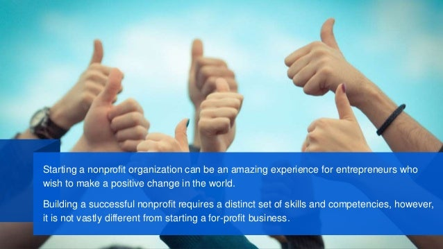 how to start a nonprofit business