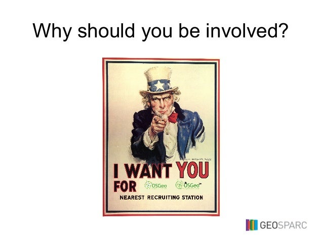 Why should you be involved?
