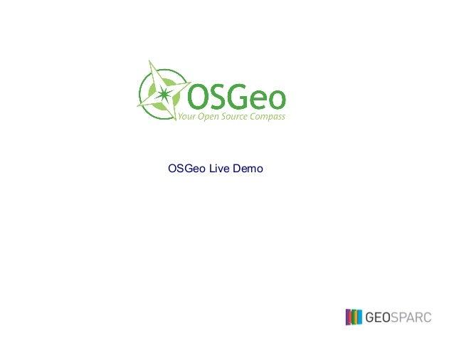 OSGeo Live Demo