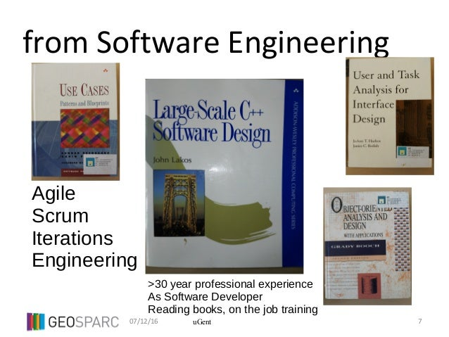 07/12/16 7uGent from Software Engineering Agile Scrum Iterations Engineering >30 year professional experience As Software ...